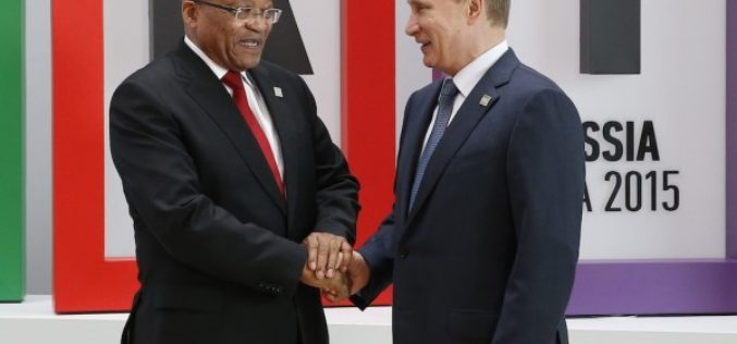 Russia and South Africa agreement during the 7th BRICS summit