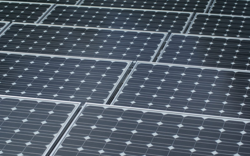 Turkey's first solar power plant