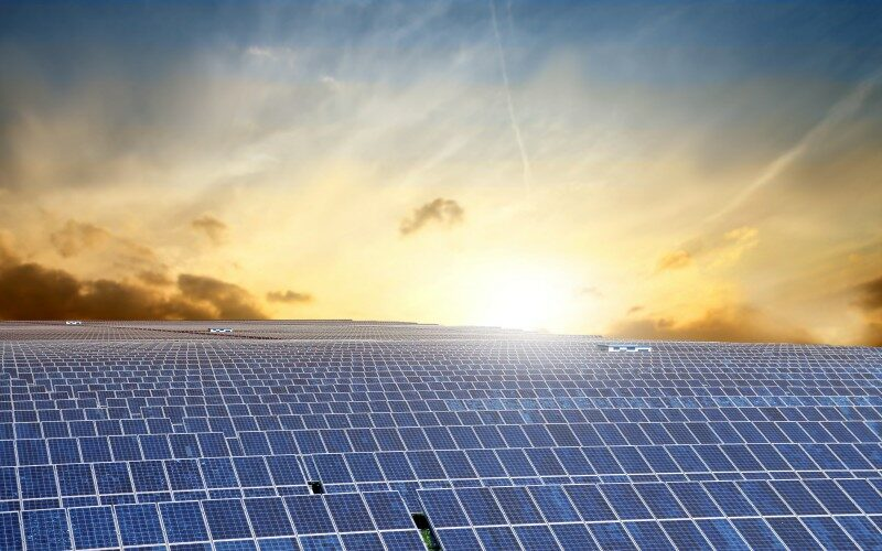 Commercial operation of largest solar power plant in the world