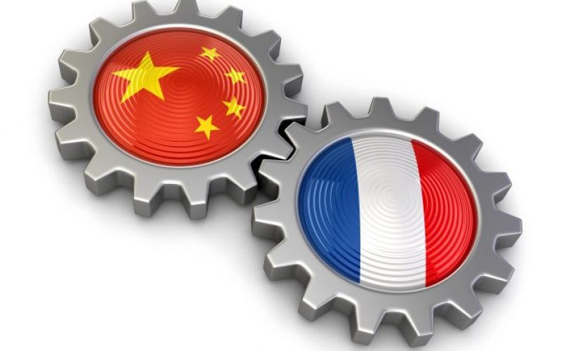 Chinese-French nuclear fuel reprocessing projects
