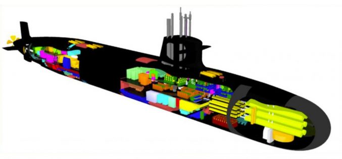 Brazil starts the project of its first nuclear submarine