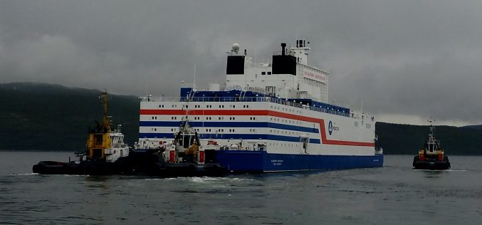 Pilot operation of the floating nuclear power plant Akademik Lomonosov